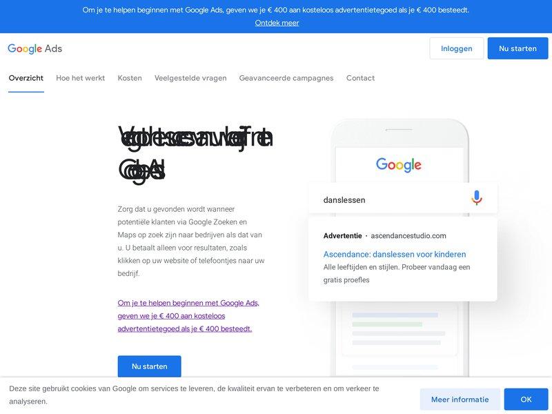 Google AdWords   Publicité Google en ligne au paiement par clic (PPC)