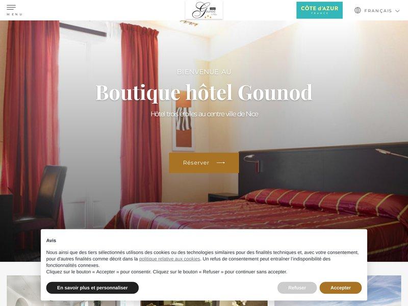Hôtel Gounod ***