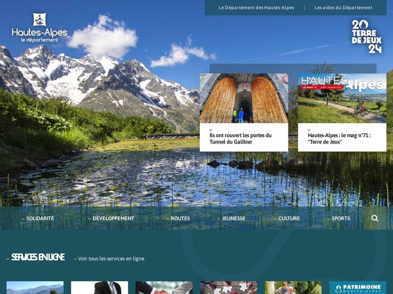Accueil - Département des Hautes-Alpes