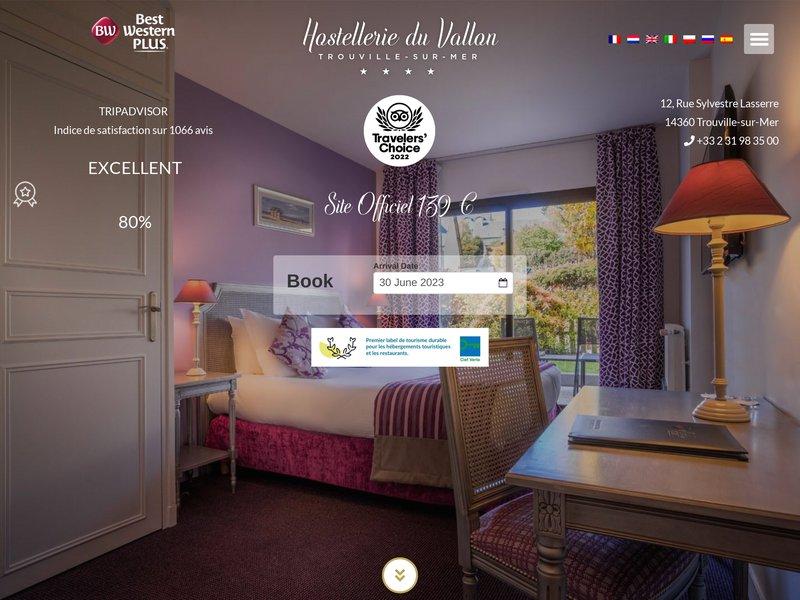 Best Western Hostellerie du Vallon ***