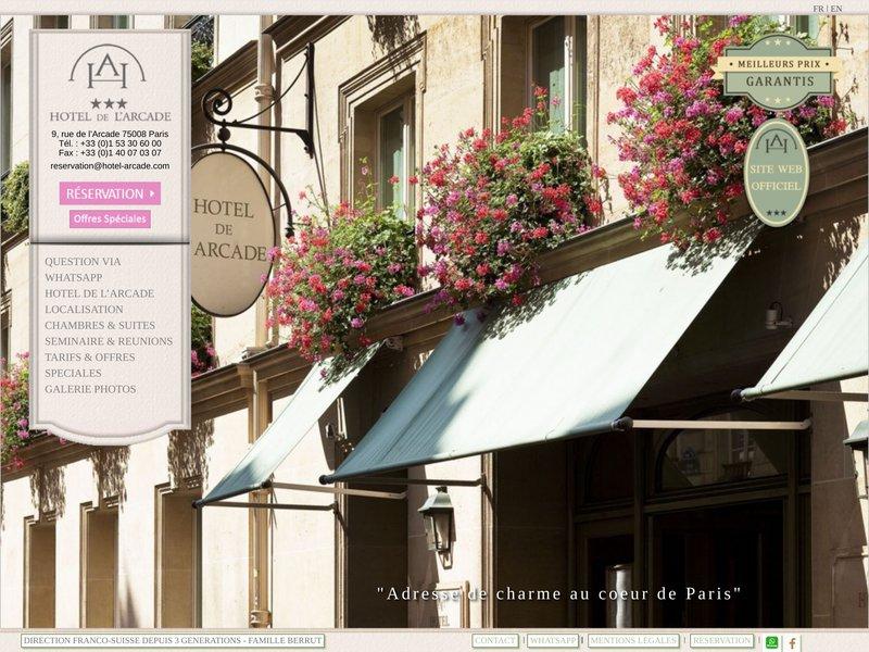 Hôtel De l'Arcade ***