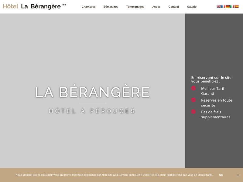 Hôtel la Bérangère **
