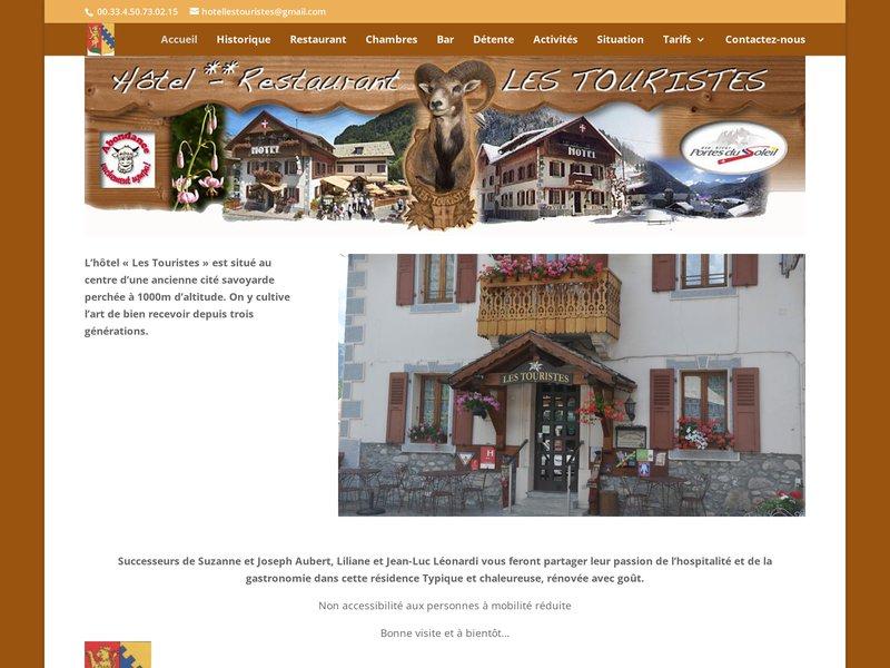 Hôtel Les Touristes **