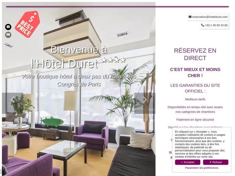 Hôtel Duret ****