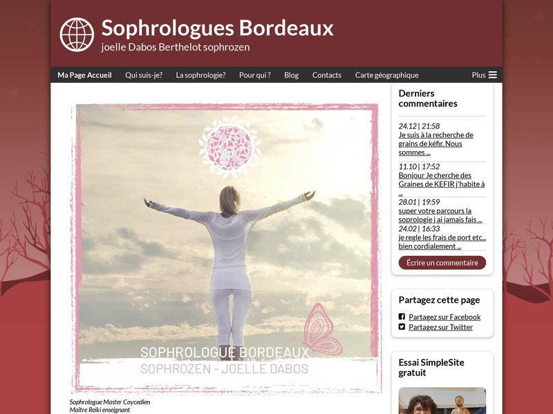 Sophrologue Bordeaux