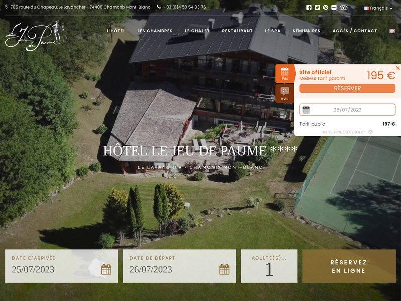 Hôtel Le Jeu de Paume ****