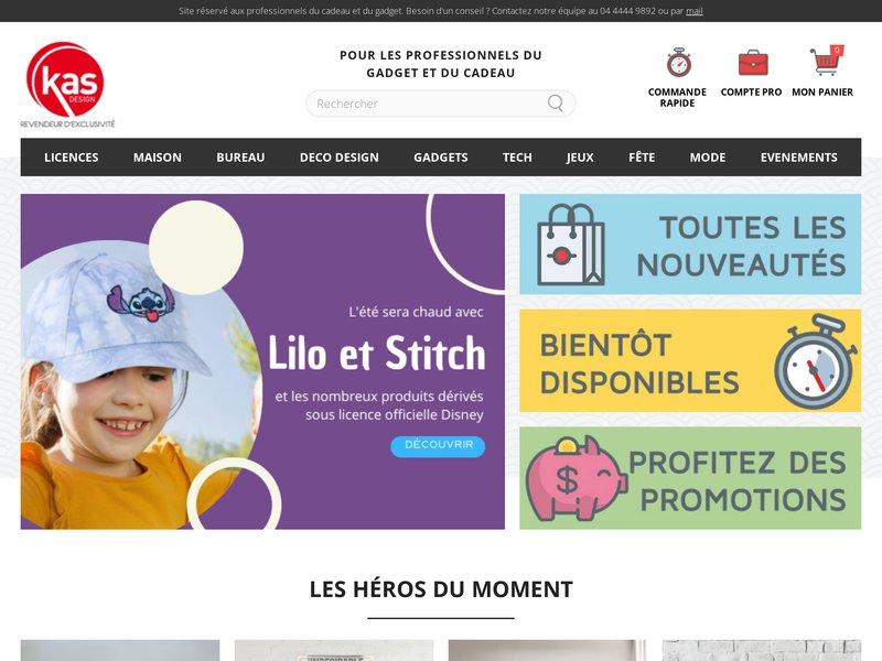 Kas Design, Distributeur de Cadeaux Originaux