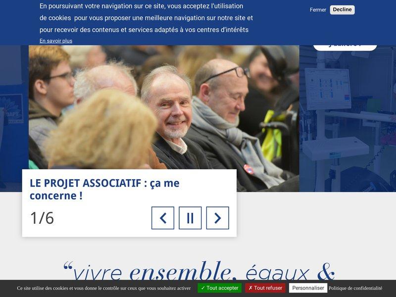 L'ADAPT - Association pour l'insertion sociale et professionnelle des personnes handicapées - Bienvenue sur notre site