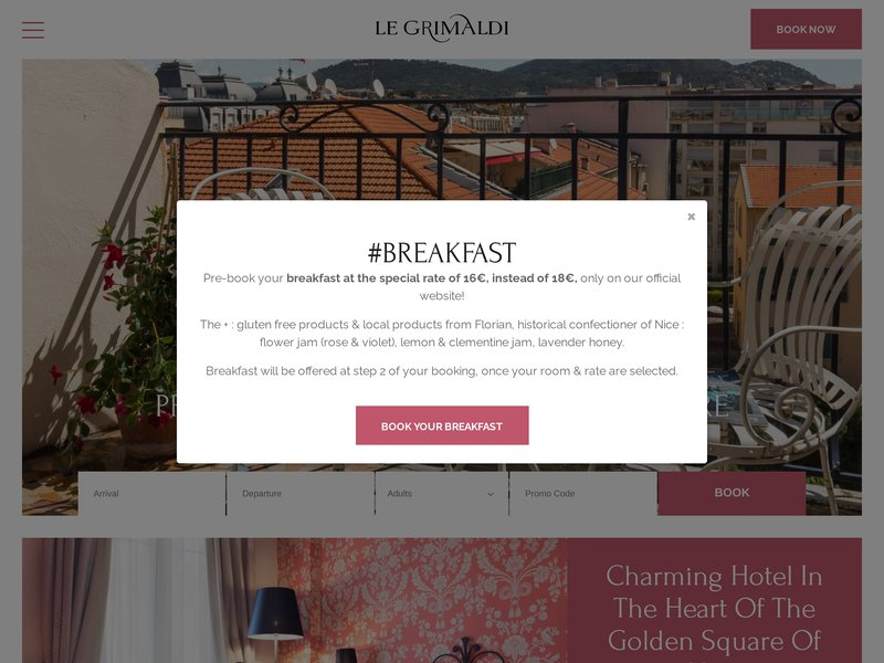 Hôtel Le Grimaldi ****