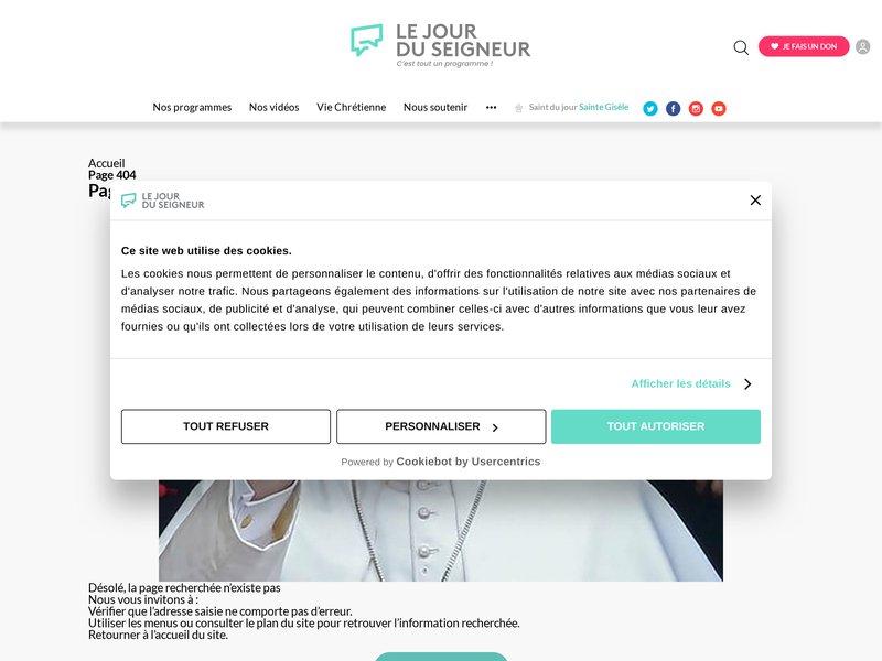 http://www.lejourduseigneur.com/