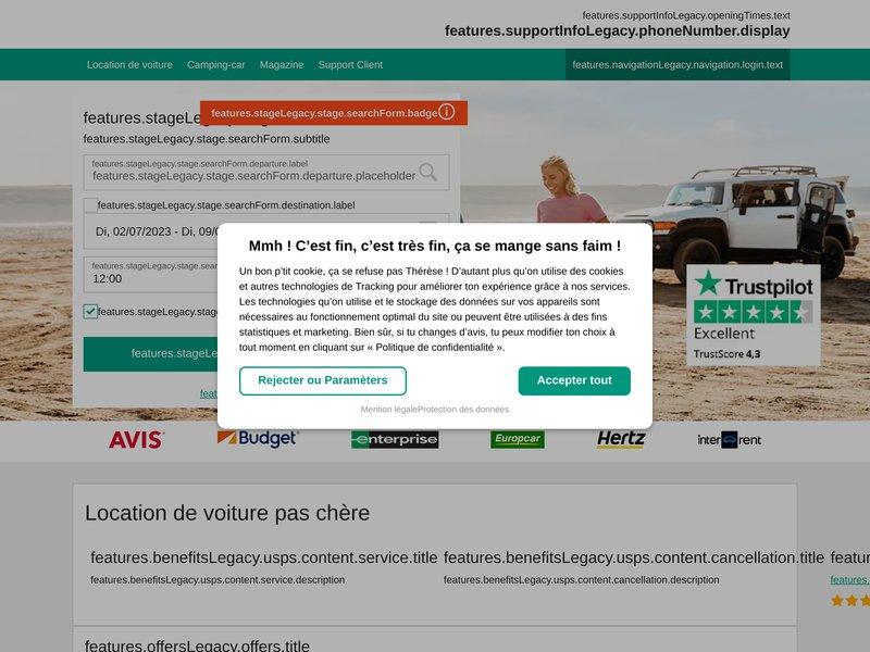 Locations de voitures avec Locationdevoiture.fr