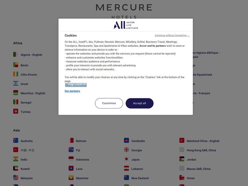 Mercure Lyon Brotteaux ***