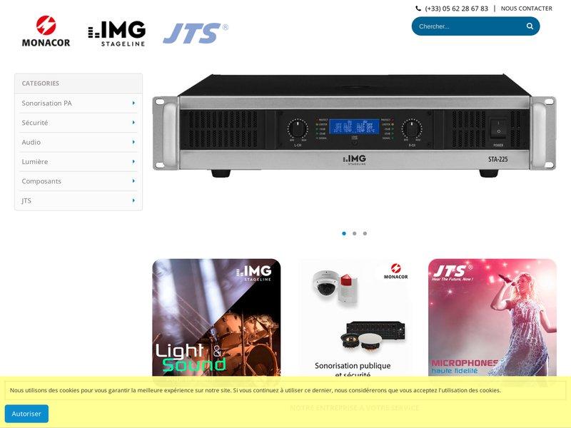 Bienvenue sur Monacor France