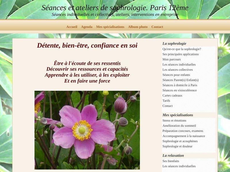 Sophrologie caycédienne. Paris