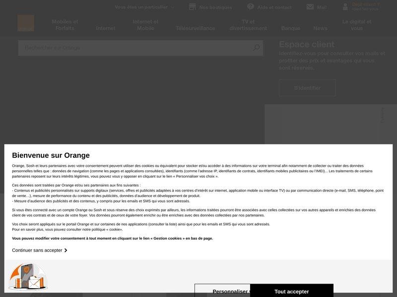 Orange-Dépannage-Réparation-Informatique-Internet-La Seyne-Toulon