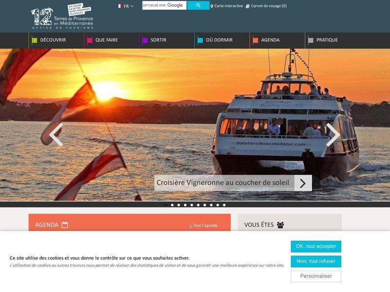"""Office du Tourisme de La Seyne-sur-Mer, La Seyne dans le Var : séjour, vacances, week-ends, camping, plages</title> <meta name=""""Description"""" content=""""Site officiel de l'Office"""