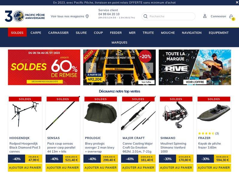Pacific pêche Online