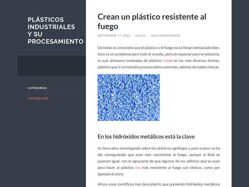 Proplast : Accueil
