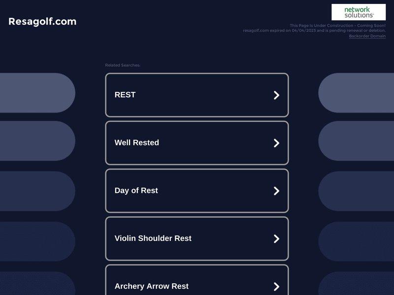 Resagolf.com