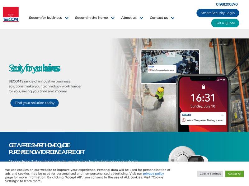 Secom plc.