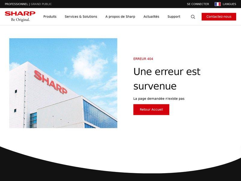 Sharp France - Sharp-Dépannage - Réparation - Lcd- Plasma -Hifi -Vidéo -La Seyne - Six-Fours - Saint-Mandrier - Ollioules- Sanary - Le Pradet - Le Revest - Le Beausset- Bandol -Toulon