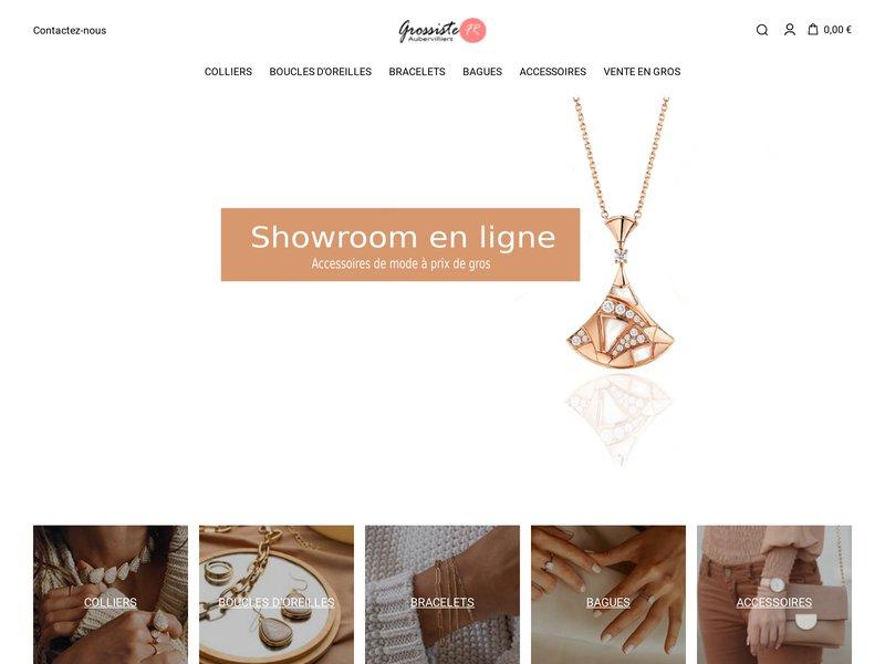 Showroom Mark Kanz - Grossiste bijoux fantaisie pas cher