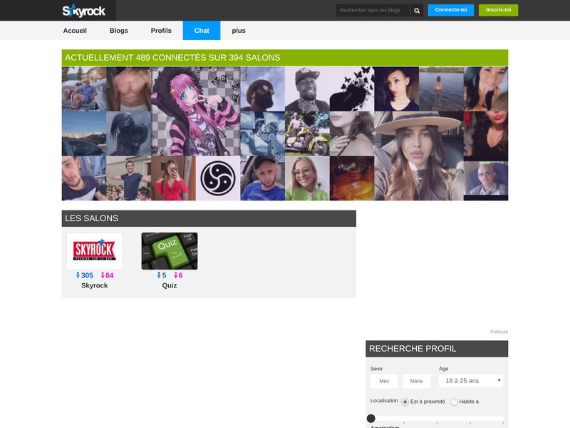 Chat - Skyrock.com