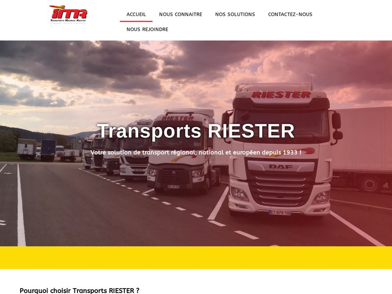 Transports Maurice RIESTER