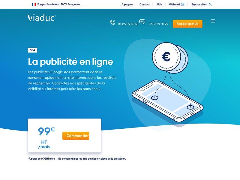 Viaduc.fr, agence spécialisée dans la conception de site