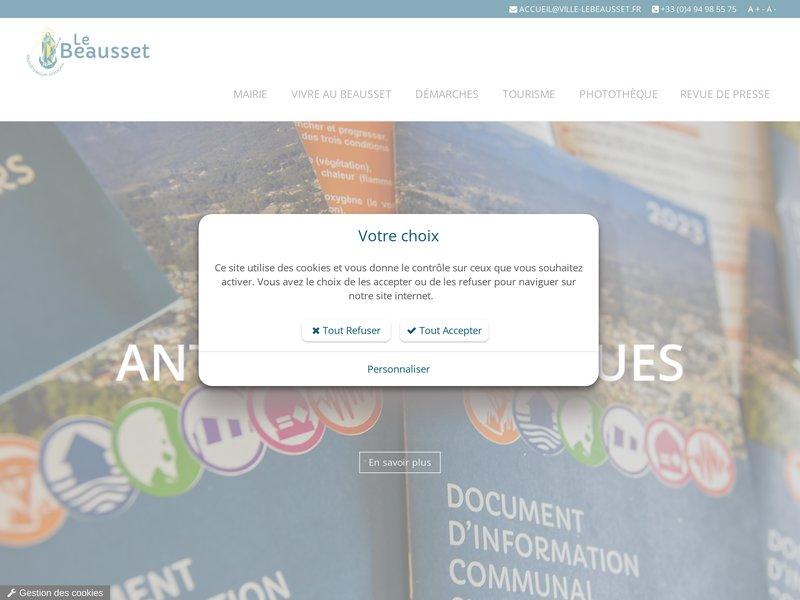 Le Beausset : site officiel de la commune (Var, PACA, France)