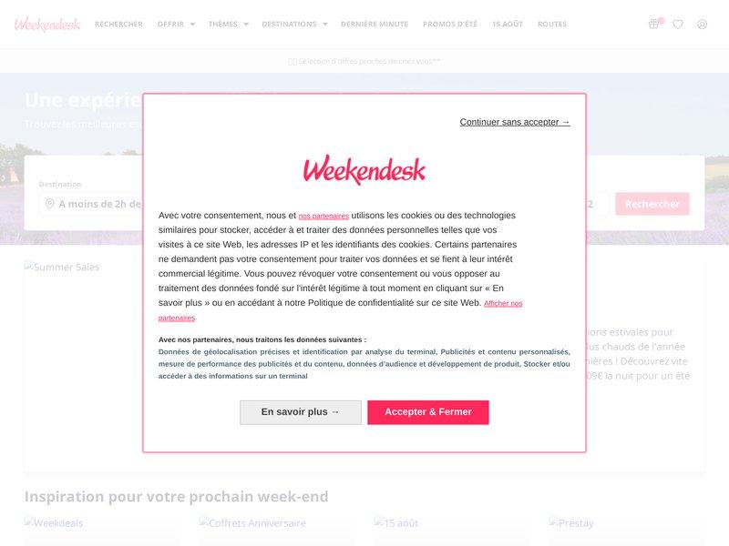 Weekendesk.fr