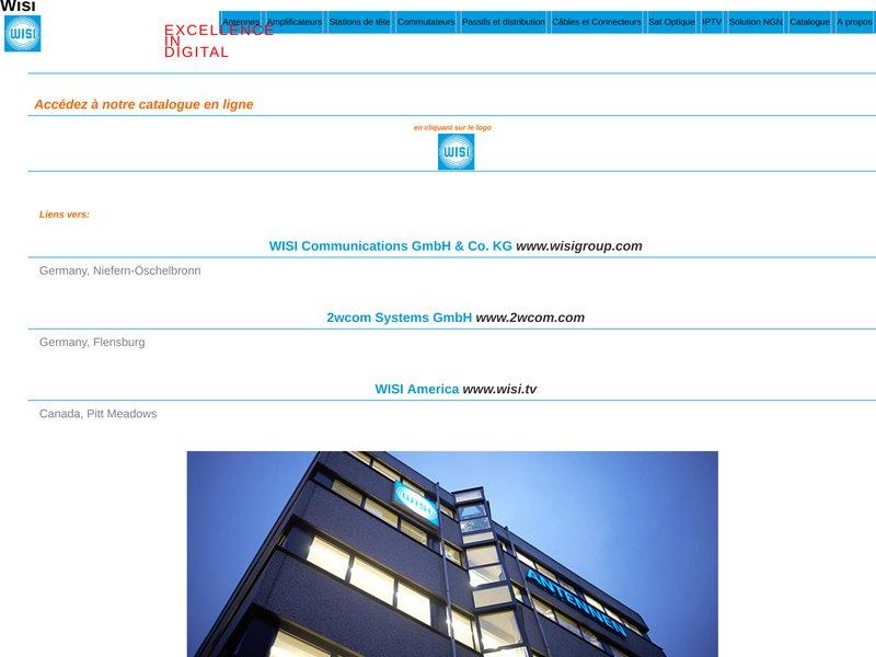 Bienvenue sur le site de WISI France