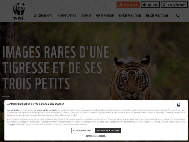 WWF France - home