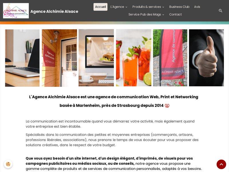 Alchimie Alsace agence de communication et médias Marlenheim