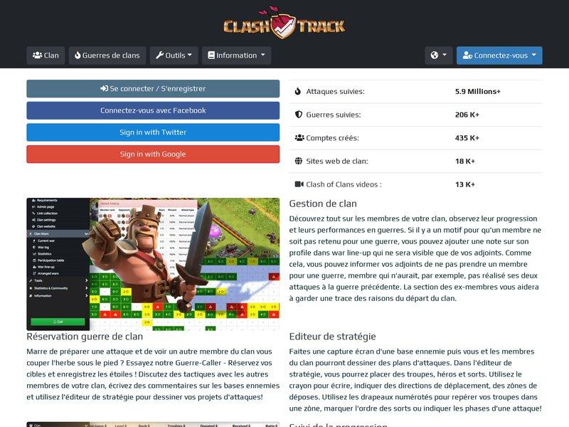 ClashTrack.com