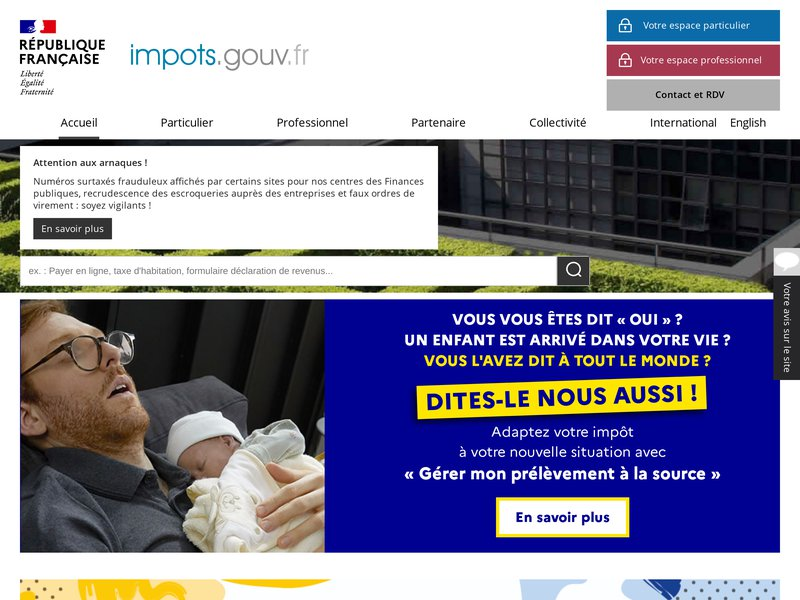 Accueil | impots.gouv.fr